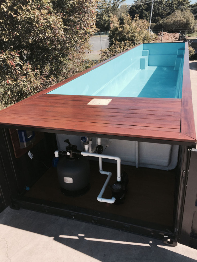 Portamini Storage Swimming Pool Out Of Storage Container